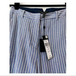 "BCBGMaxAzria  ""ETHAN""  cottony striped pants SzXXS"